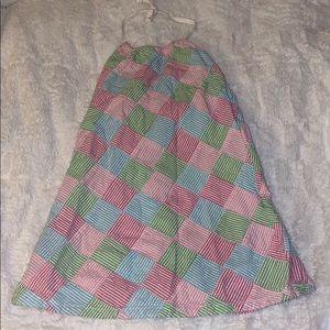 Gymboree dress girls 6 searsucker pastel